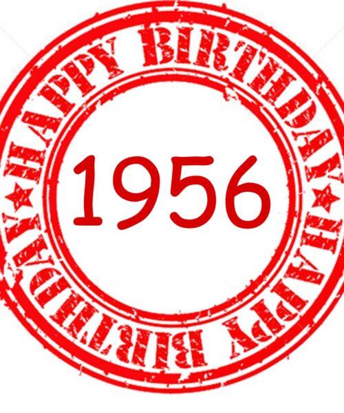 Happy Birthday 1956