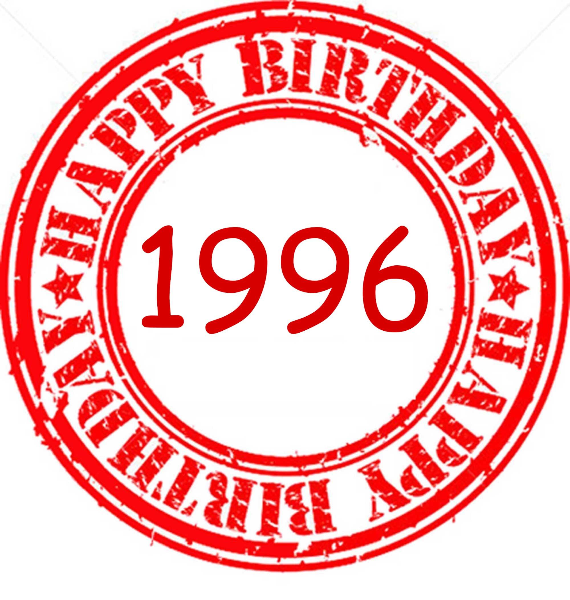 1996 sorpresa cumpleaños amiga