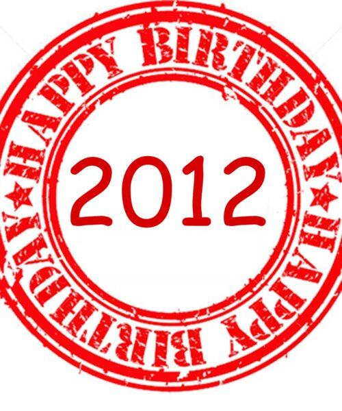 Happy Birthday 2012