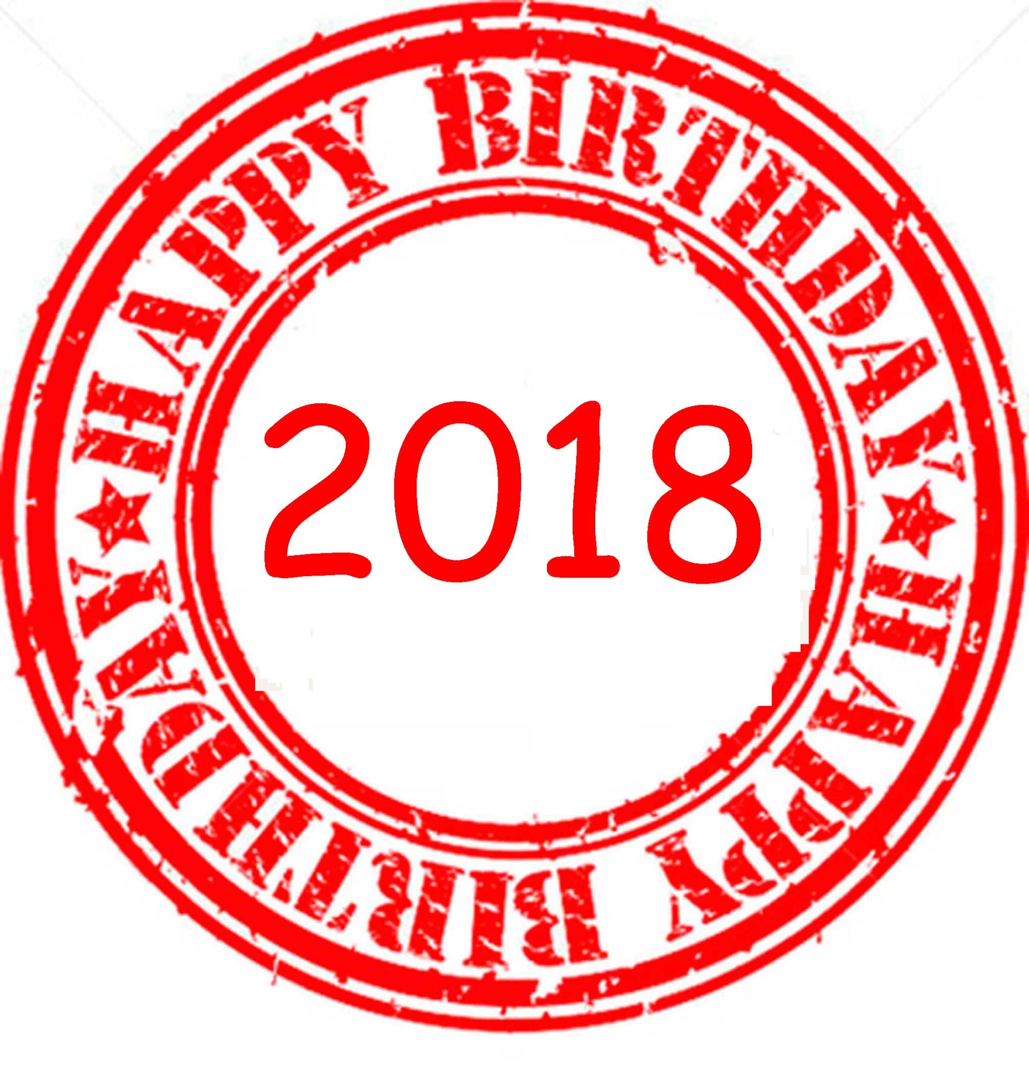Happy Birthday 2018