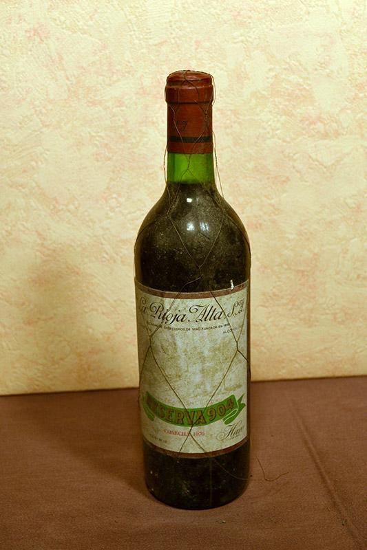 Gran Reserva 904 La Rioja Alta 1970