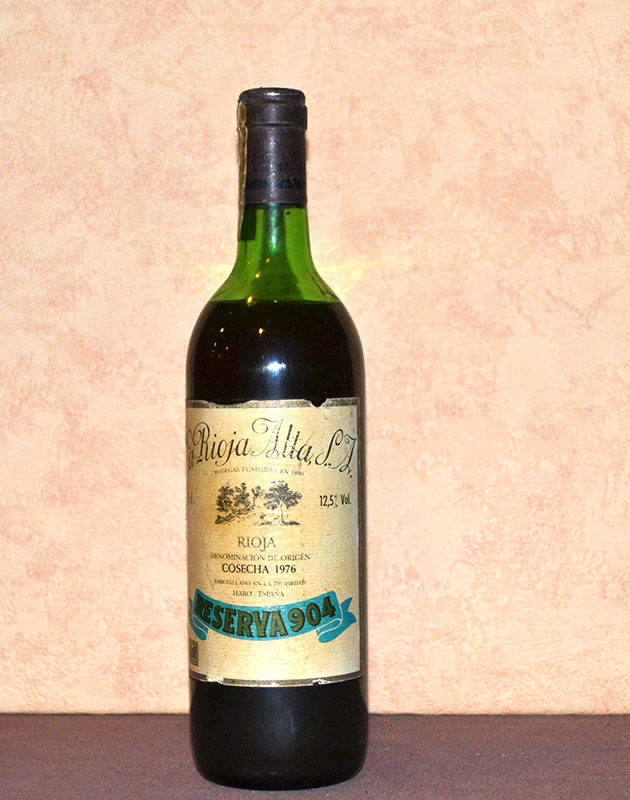 Gran Reserva 904 La Rioja Alta 1976