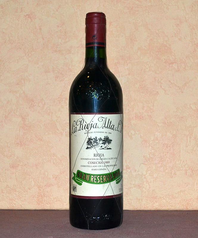 Gran Reserva 904 Rioja Alta 1989