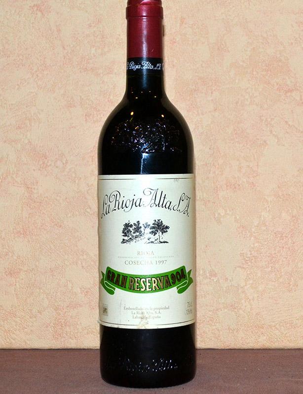 Gran Reserva 904 Rioja Alta 1997