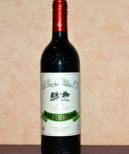 Gran Reserva 904 Rioja Alta 1998