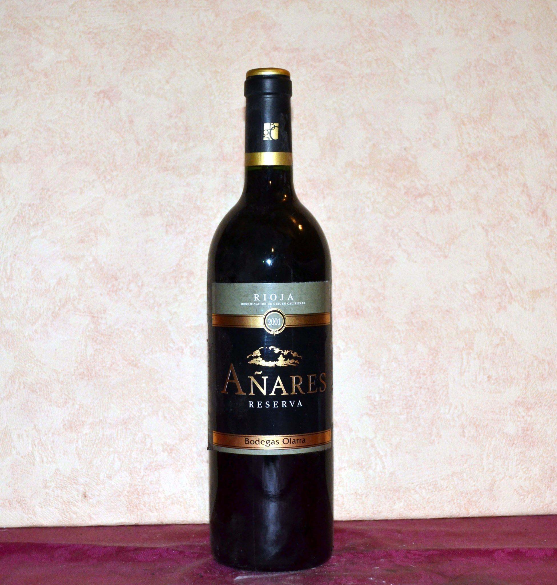 Añares Reserva 2001