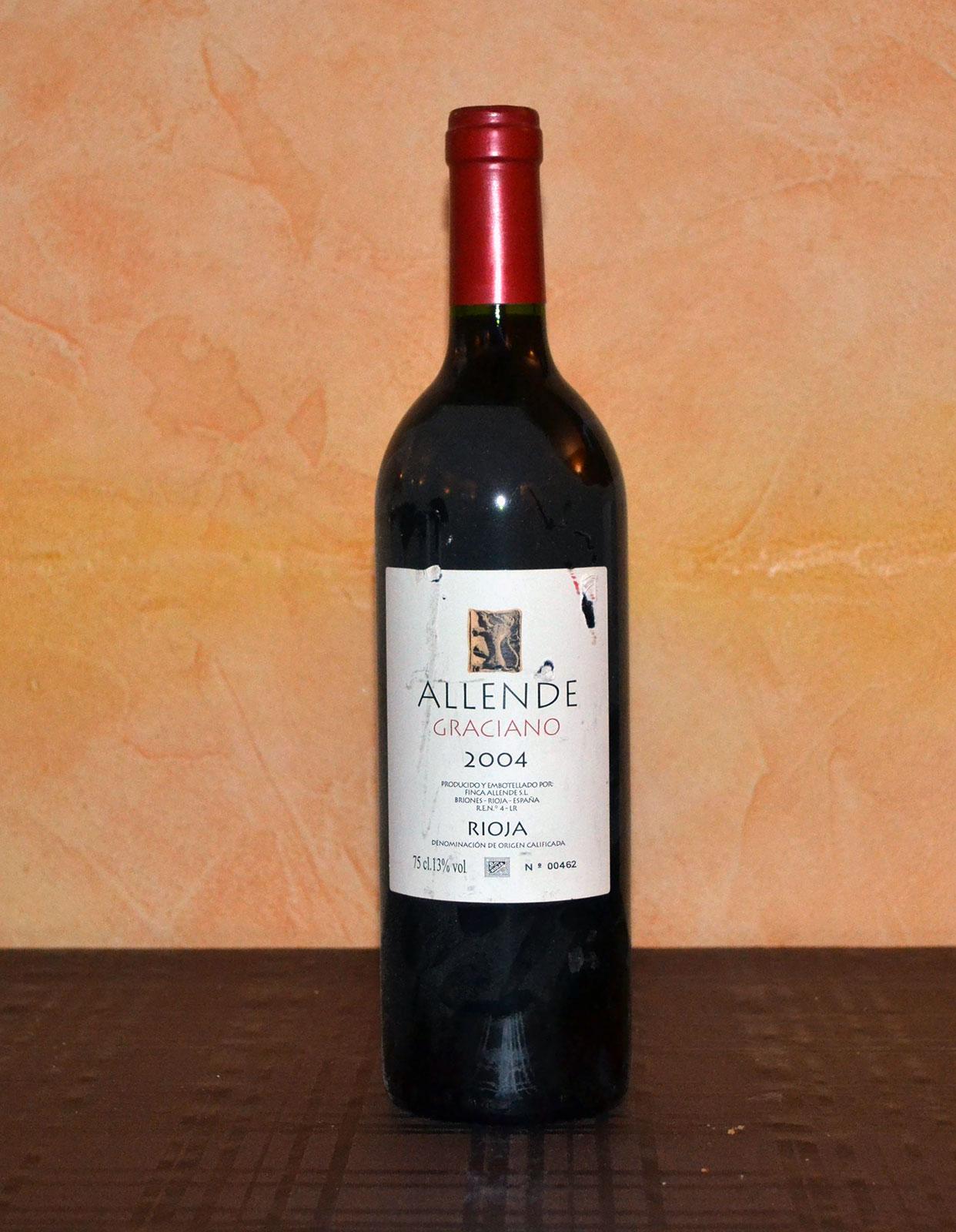 Allende Graciano Reserva 2004