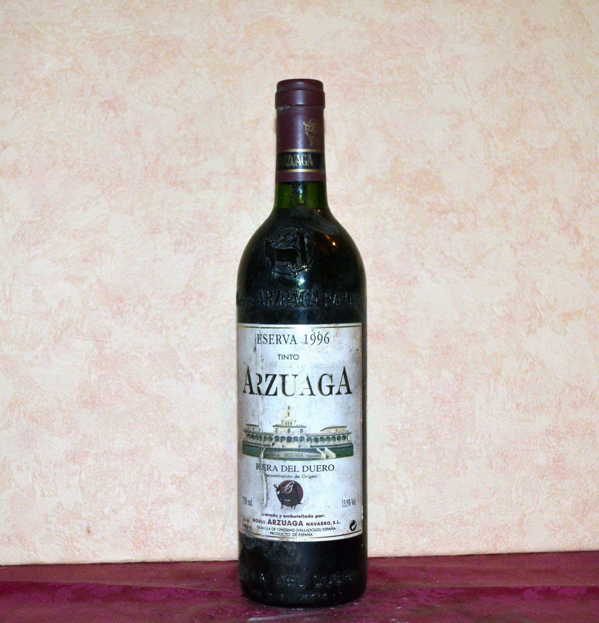 Arzuaga Reserve 1996