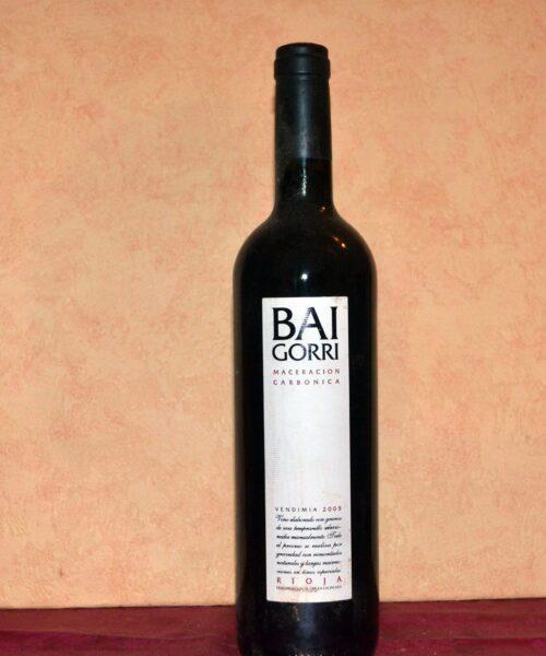 Baigorri maceracion carbonica 2005