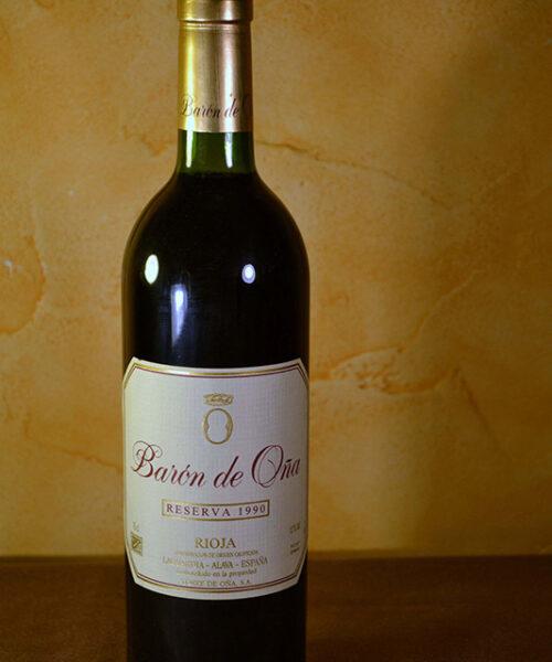 Baron de Oña Reserva 1990