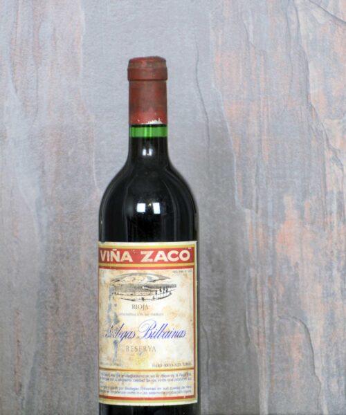Zaco Reserva Winery 1985
