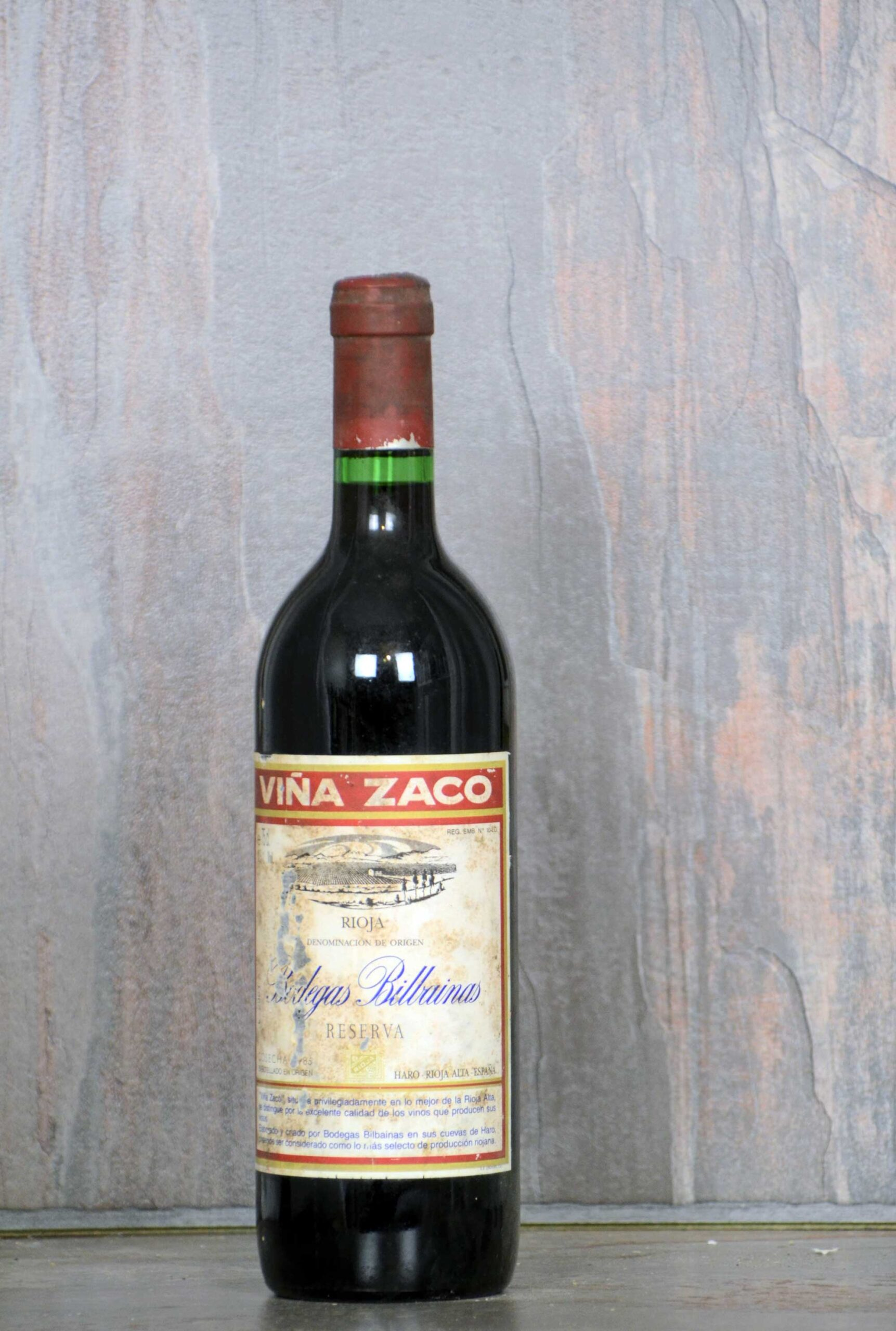 Viña Zaco Reserva 1985
