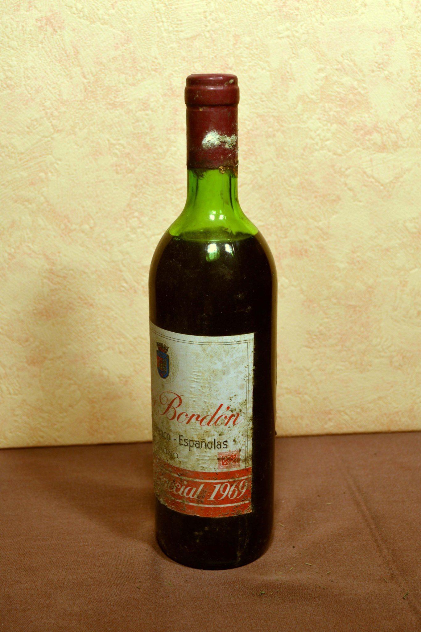 Rioja Bordon Franco Españolas Añada 1969