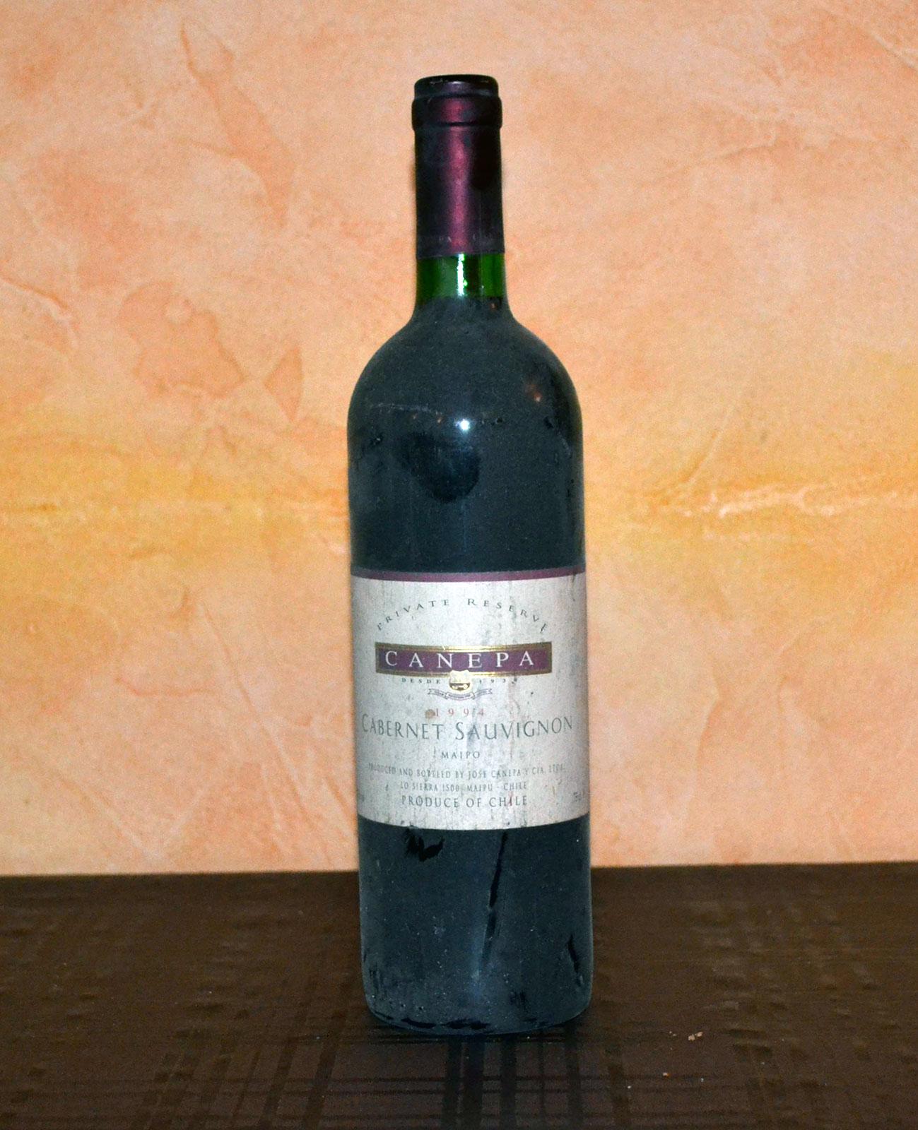 Canepa Cabernet Sauvignon Red 1994