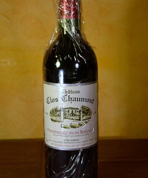 Chateau Clos Chaumont Bordeaux 1996