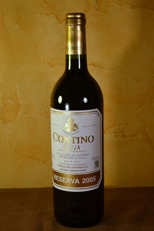Contino Tinto reserva 2005