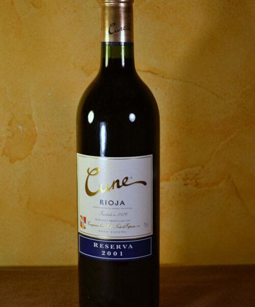 Cune Reserva 2001