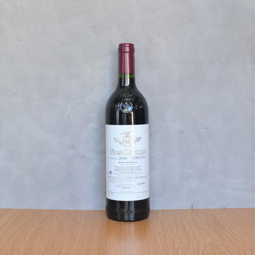 Vega Sicilia Unique 2000