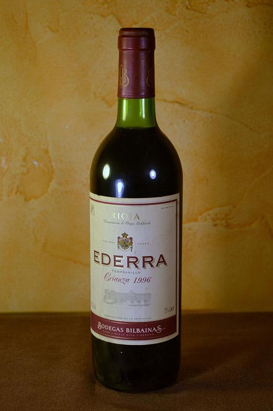 Ederra Crianza 1996