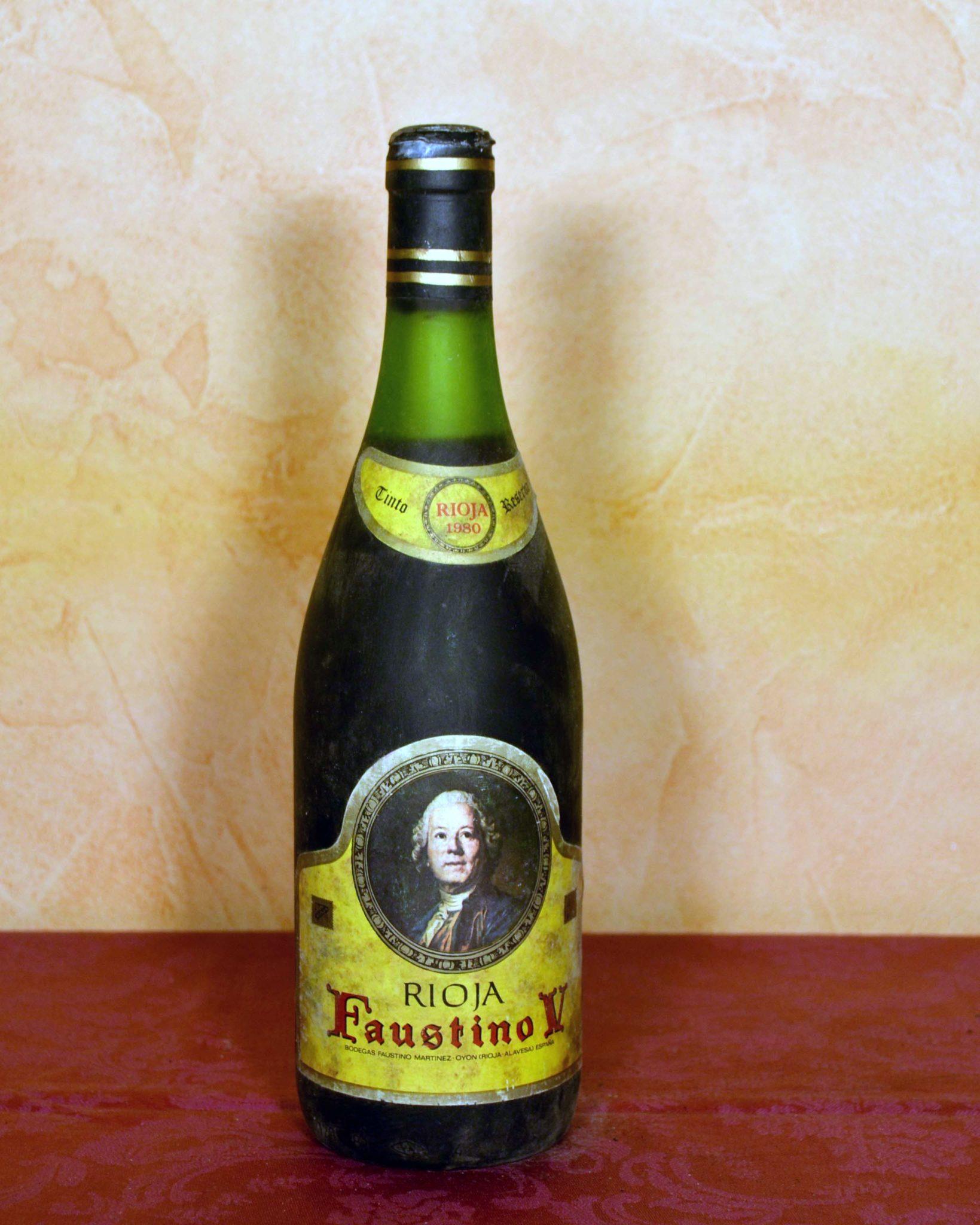 Faustino V Reserva 1980