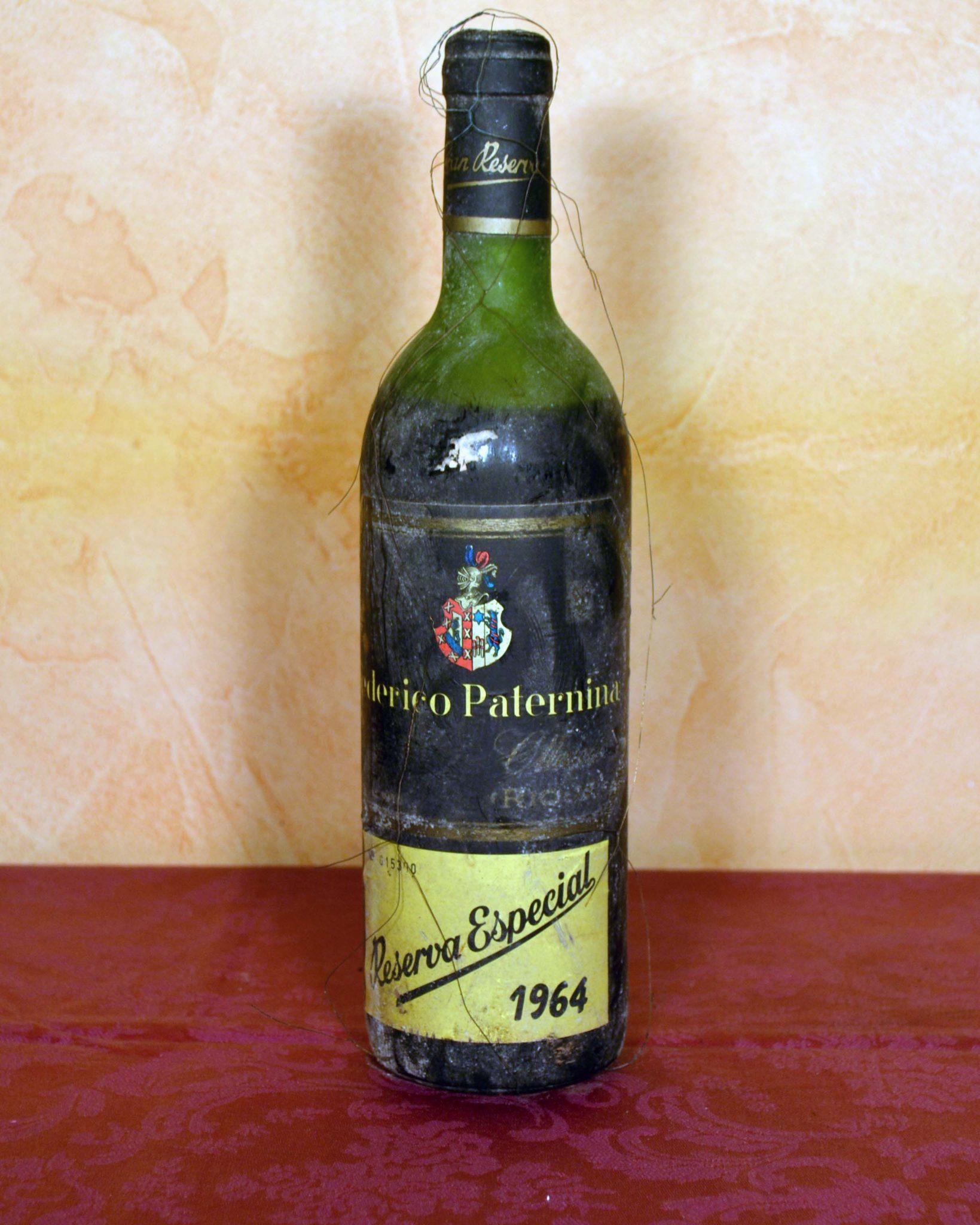 Federico Paternina Special Reserve 1964