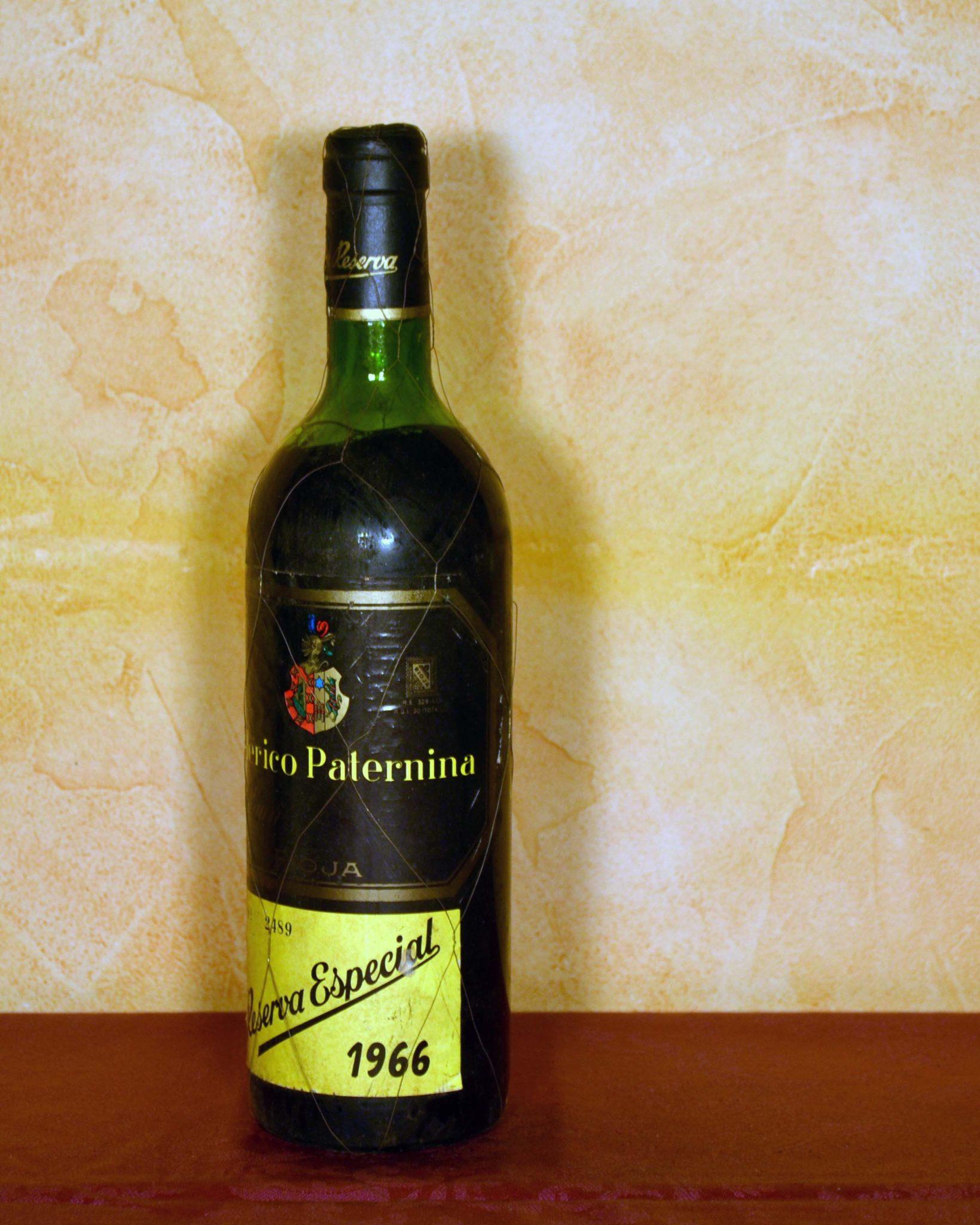 Federico Paternina Special Reserve 1966