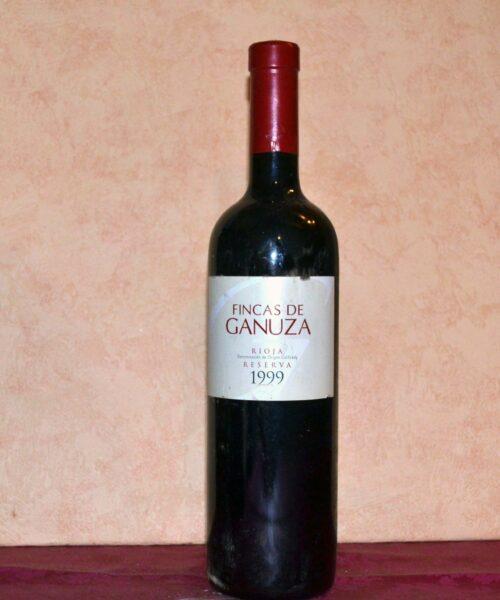 Fincas de Ganuza Reserva 1999