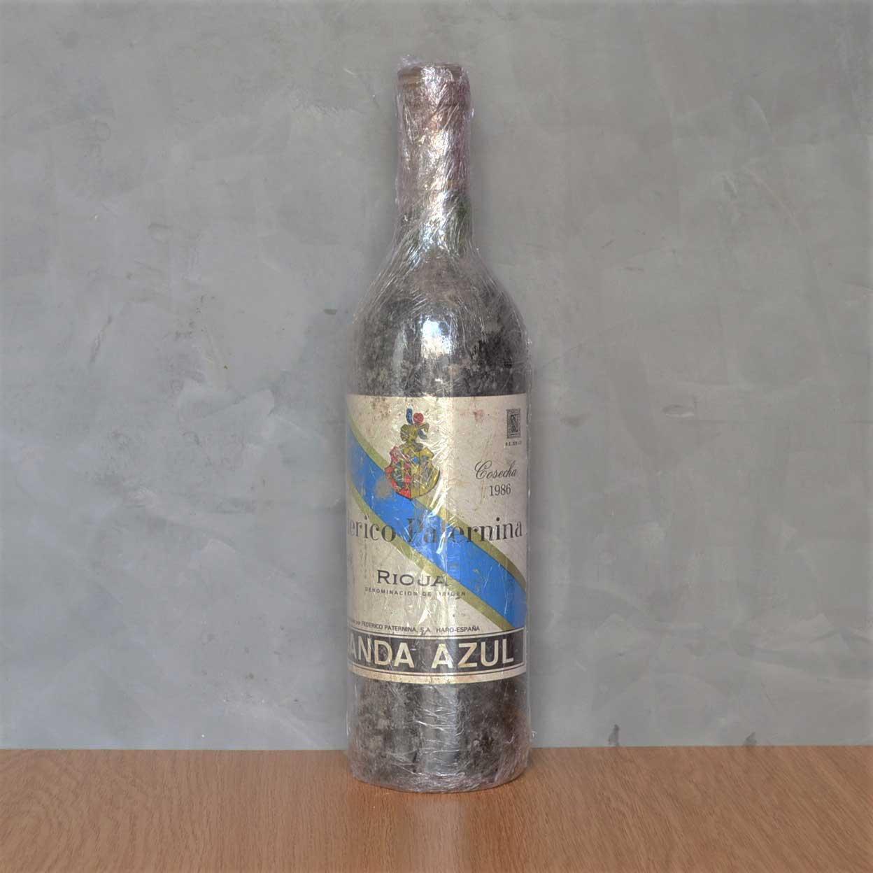Paternina banda azul 1986