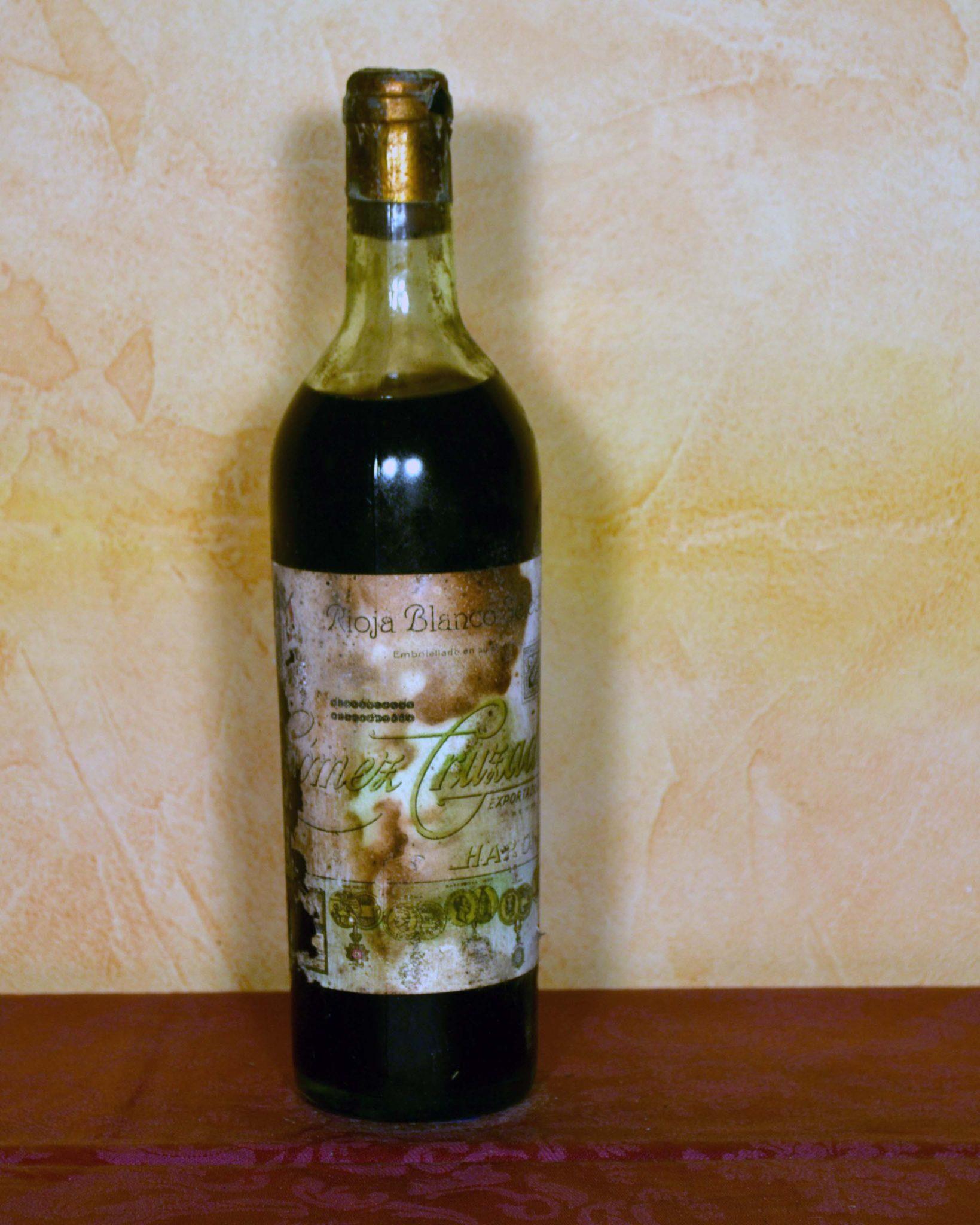 Gomez Cruzado Blanco Rioja Años 40