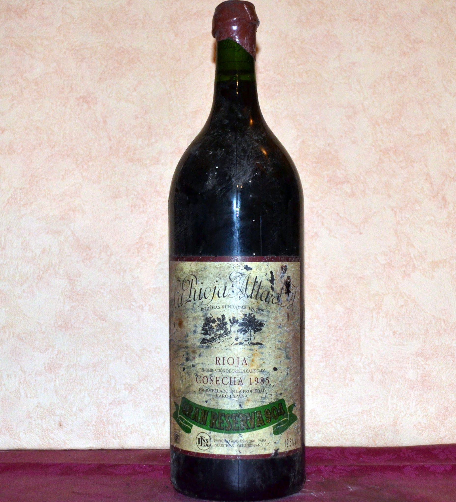 Gran Reserva 904 magnum vintage 1985