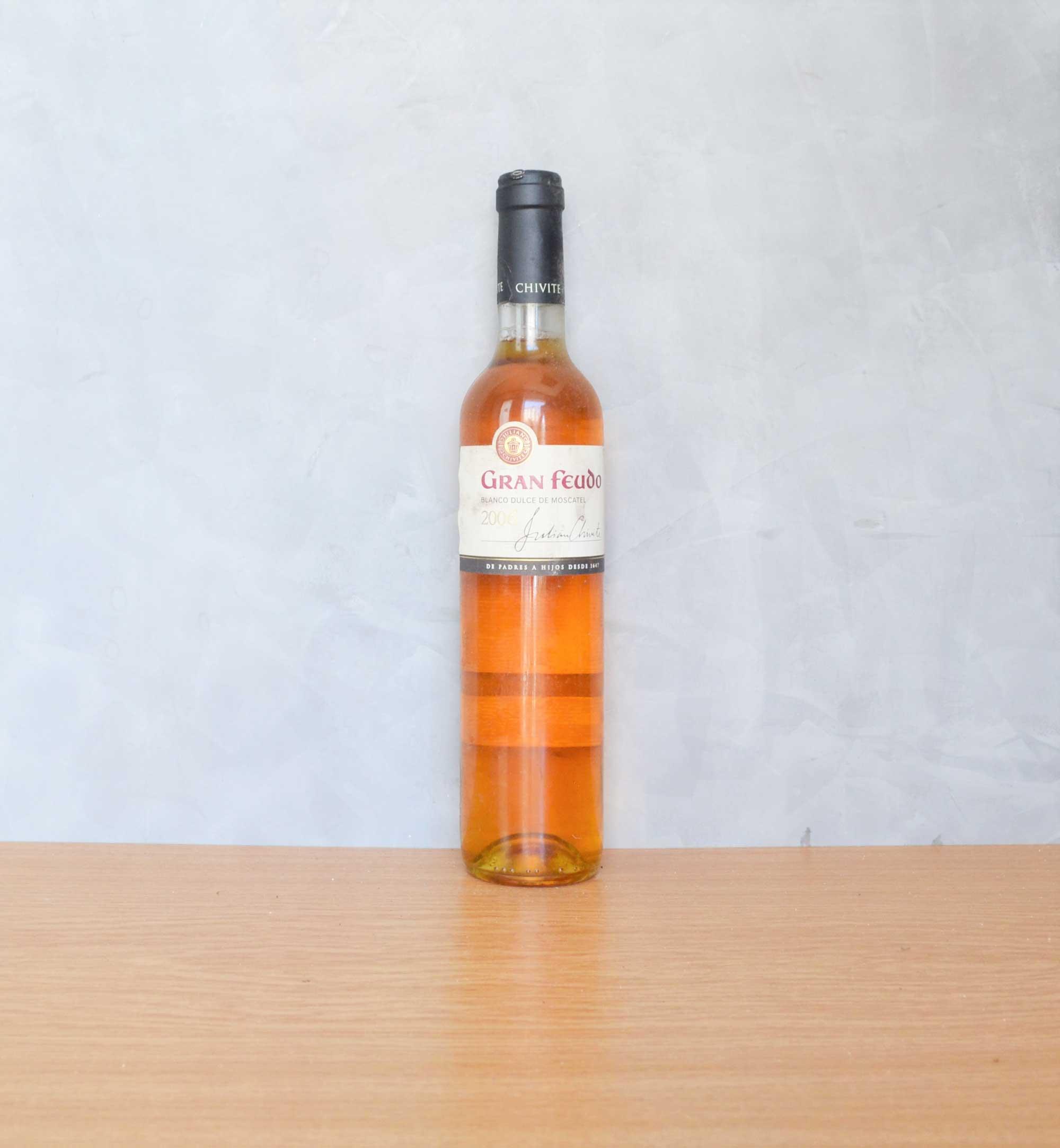 gran feudo muscatel white wine 2008