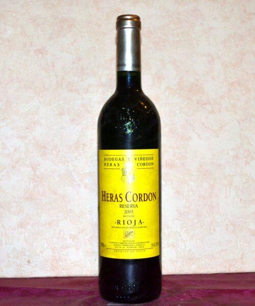 Heras Cordon Reserve 2001