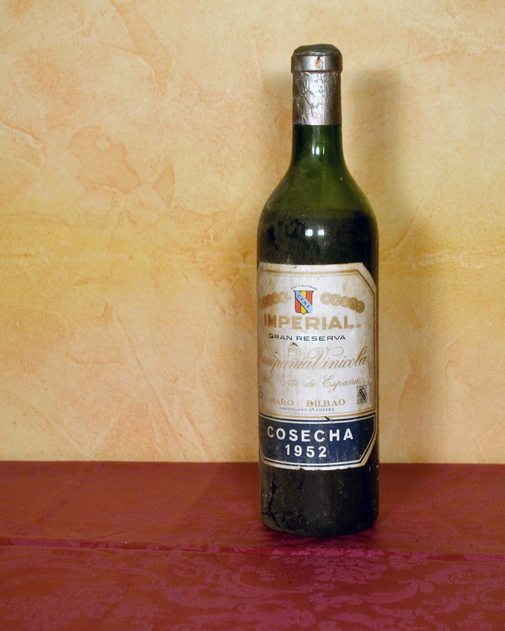 imperial tinto gran reserva 1952 Bodegas Cune Regalo jubilacion,Regalo umpleaños,Regalo Aniversario comprar en tuhistoria.es