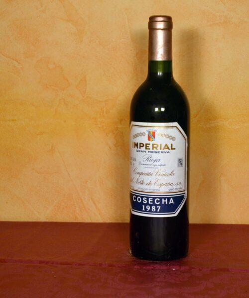imperial tinto gran reserva 1987 Bodegas Cune Regalo de Cumpleaños,Regalo de Jubilacion,Regalo de Cumpleaños comprar en tuhistoria.es