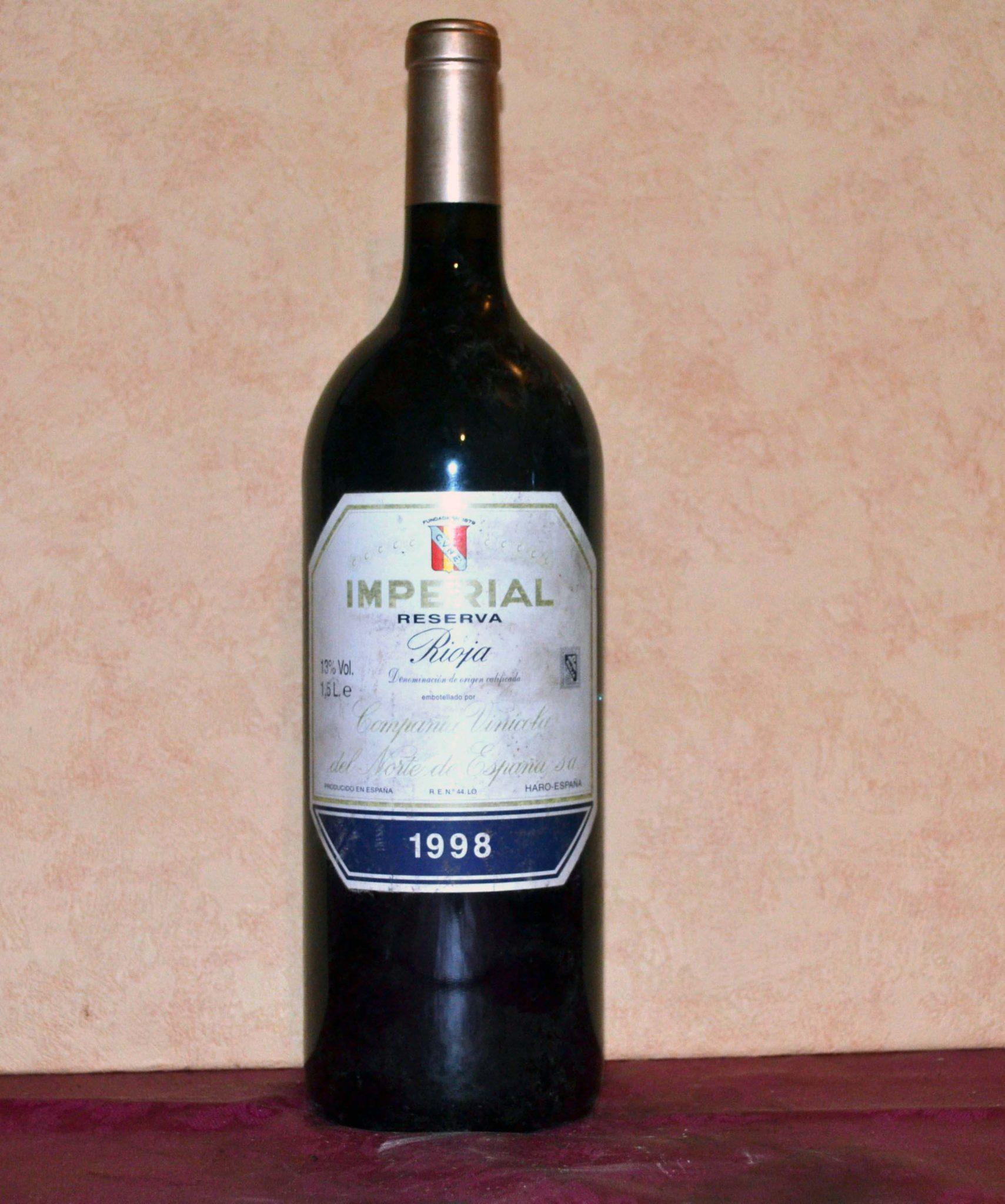 Imperial reserva 1998 magnum