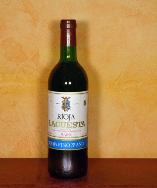 Lacuesta Fino Rioja 3er Año 1980