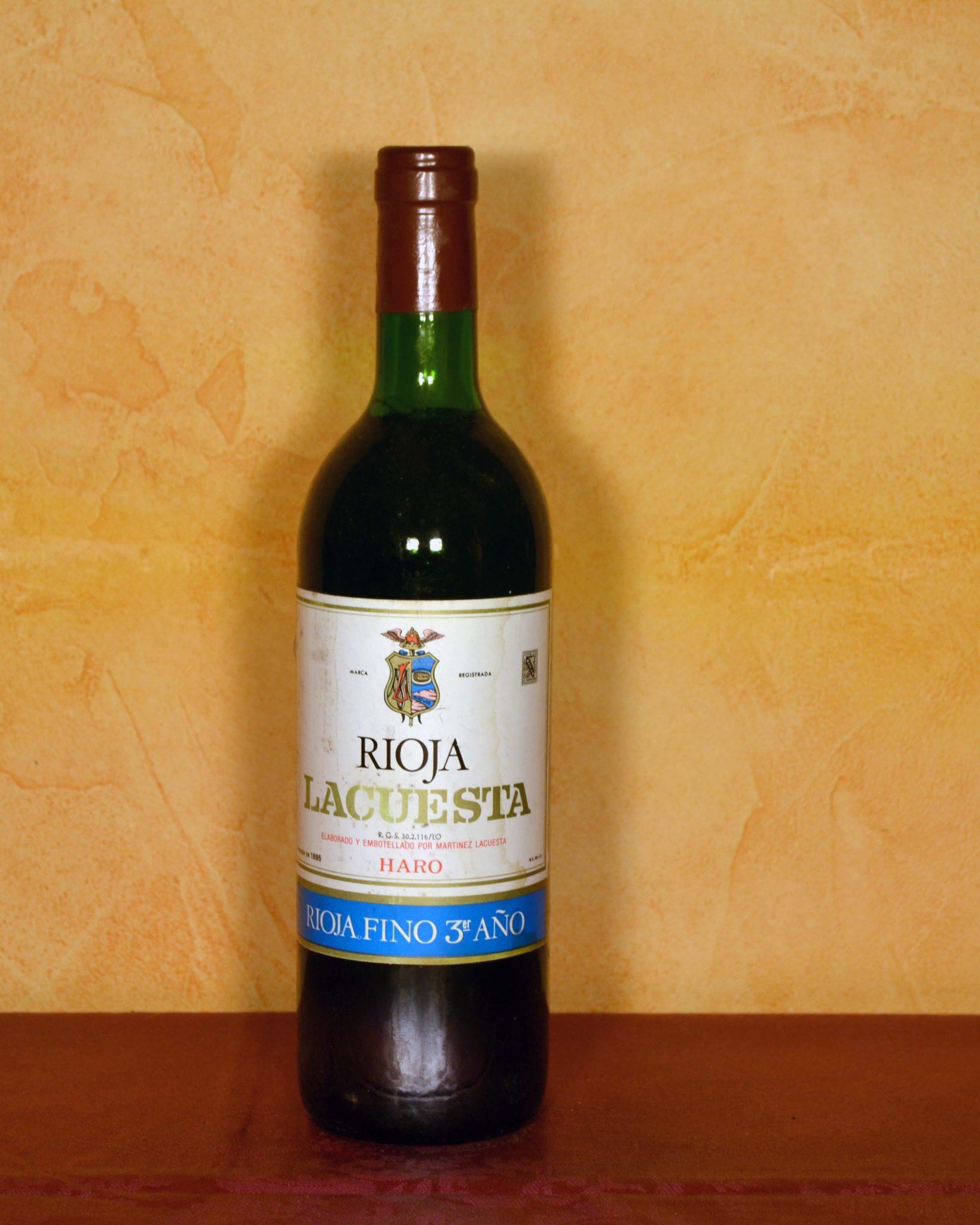 Lacuesta Fino Rioja 3rd Year 1980