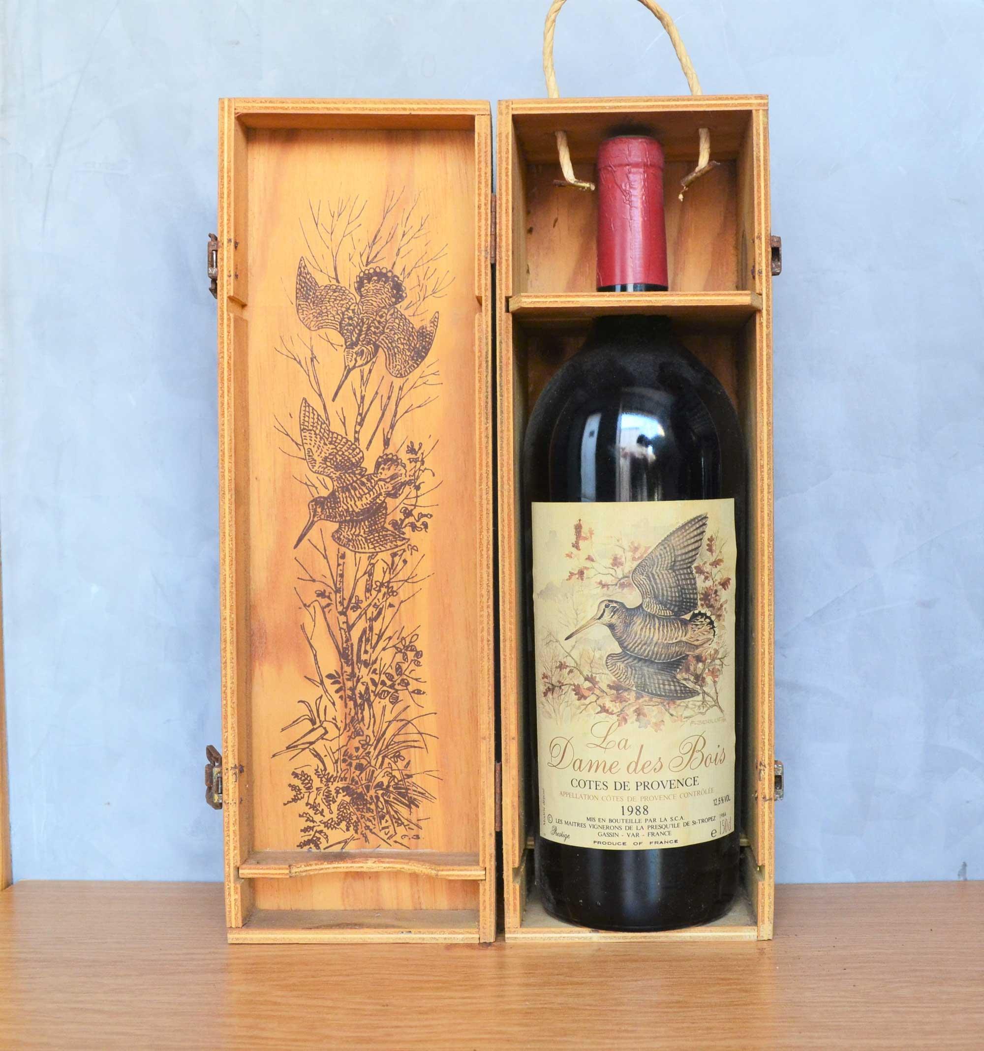 La Dame des Bois Côtes du Provence magnum 1988
