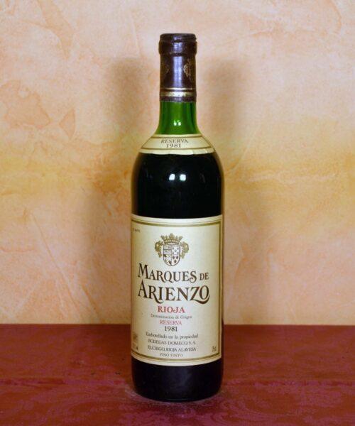 Marques de Arienzo Reserva 1981