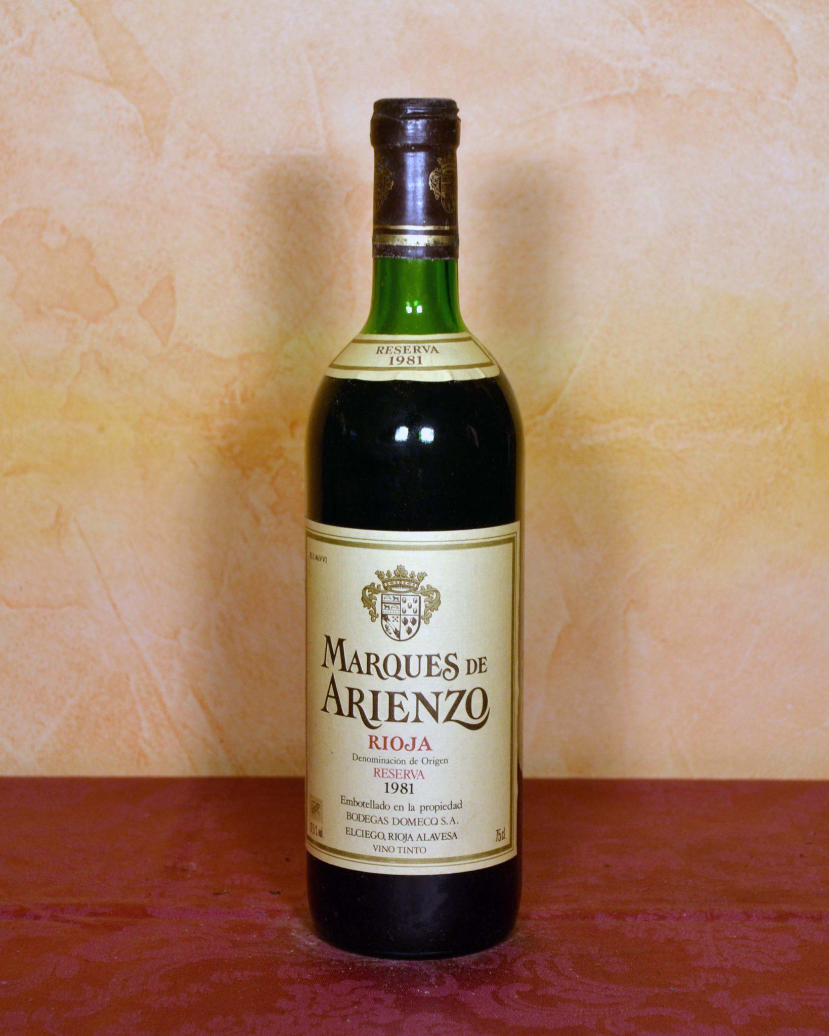 Marques de Arienzo Reserve 1981
