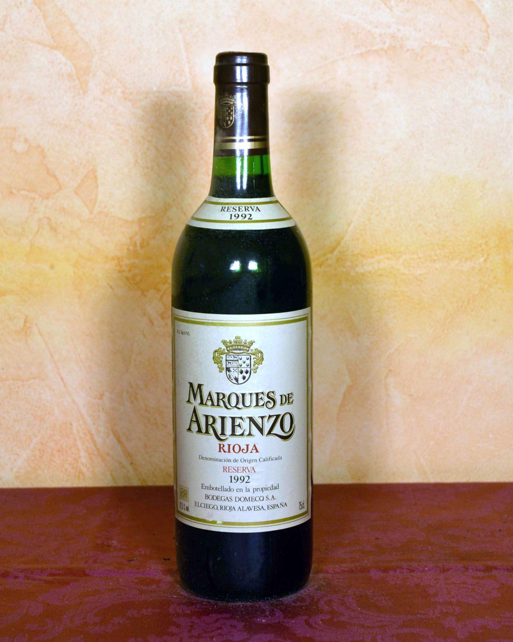 Marques de Arienzo Reserva 1992