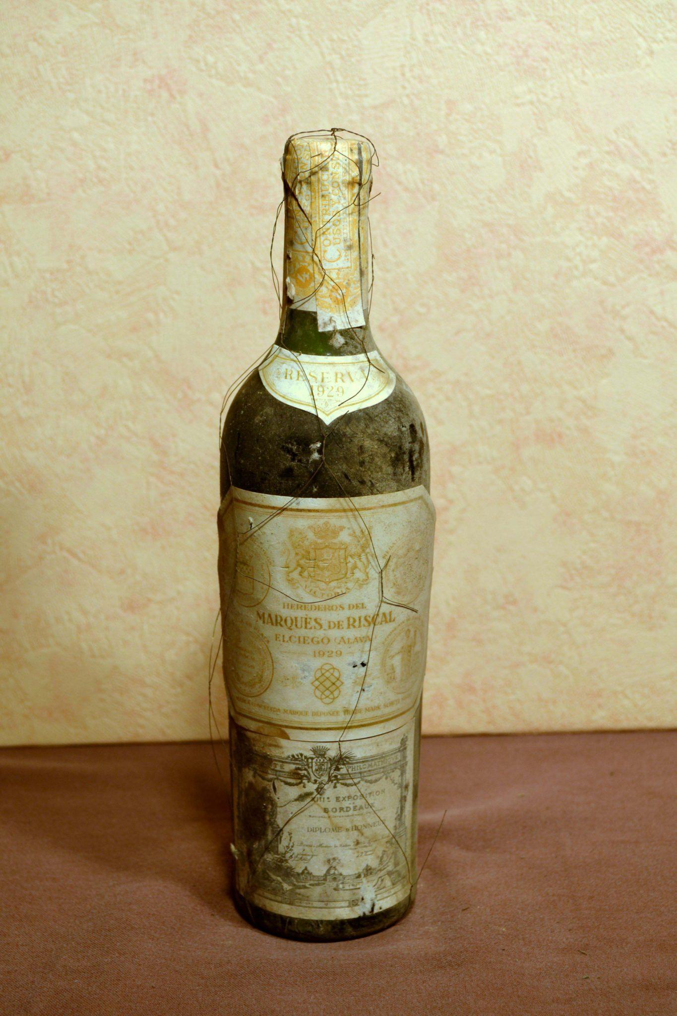 Marques de Riscal reserva 1929