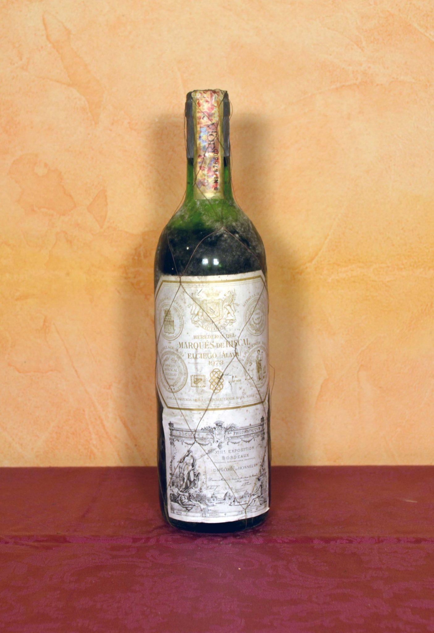 Marques de Riscal 1973 Vinos de Coleccion Tuhistoria.es