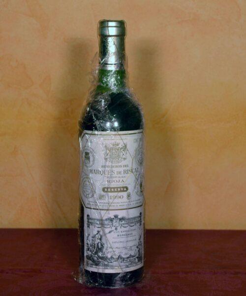 Marques de Riscal reserve 1990