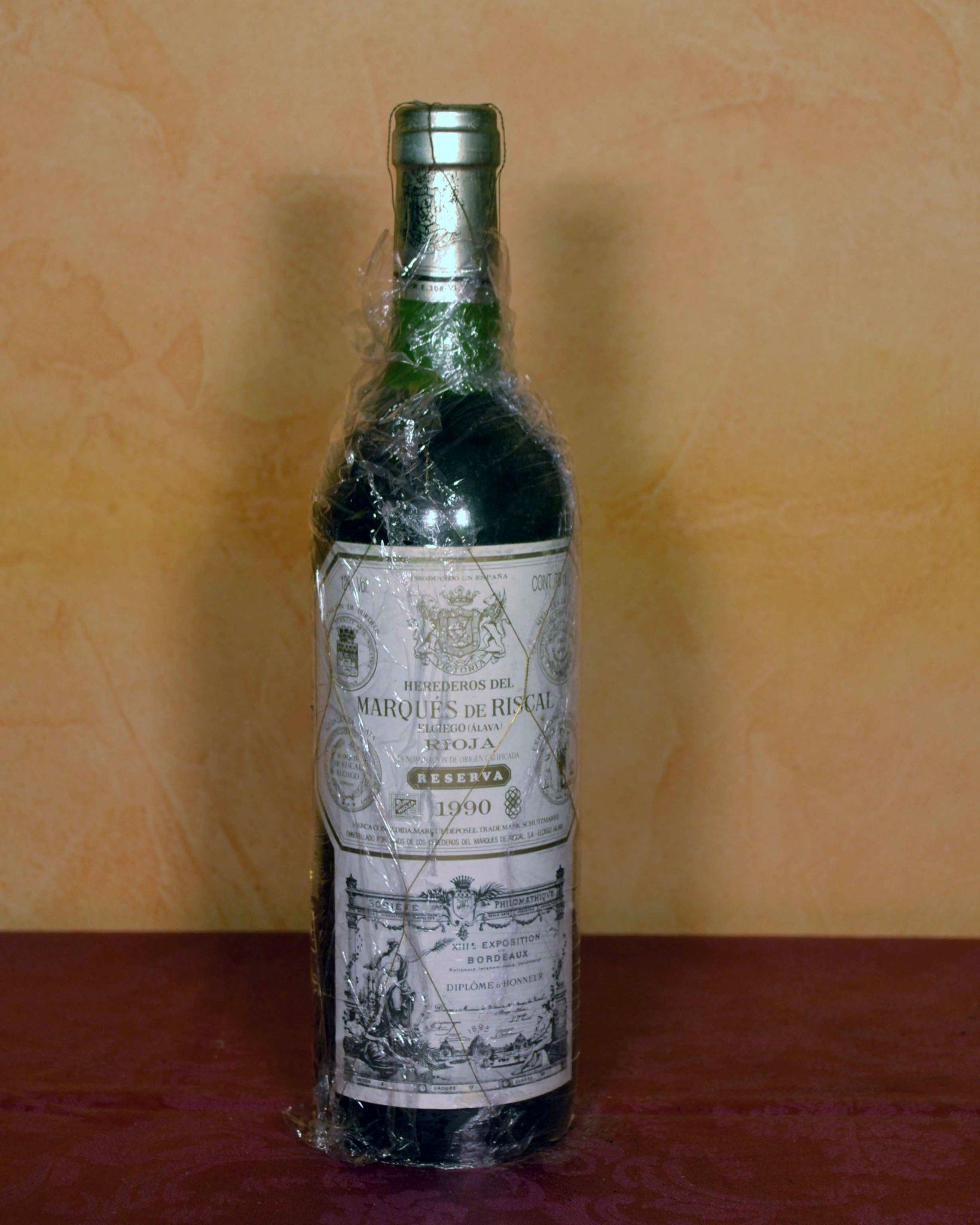 Marques de Riscal reserva 1990