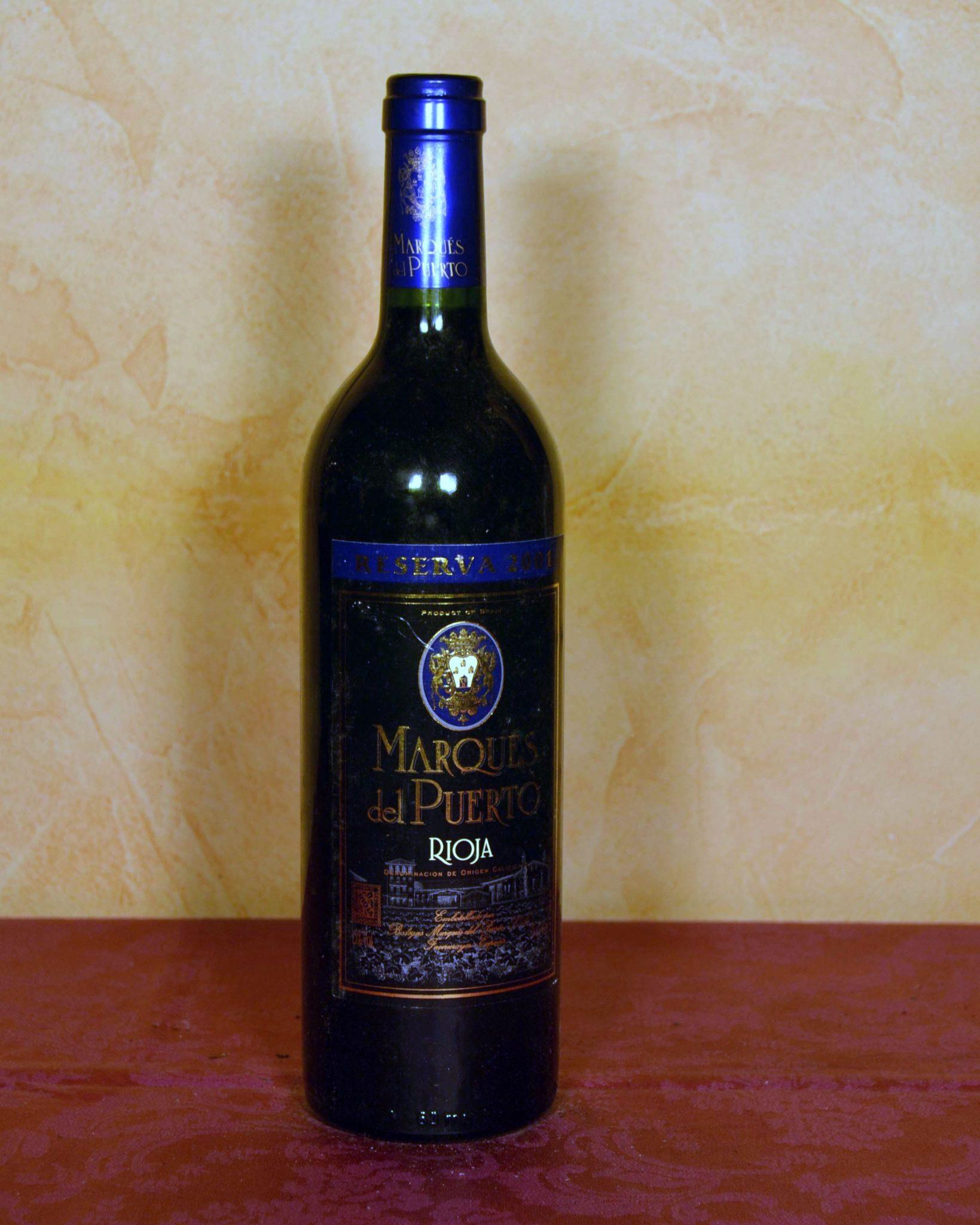 Marques del Puerto Reserva 2001