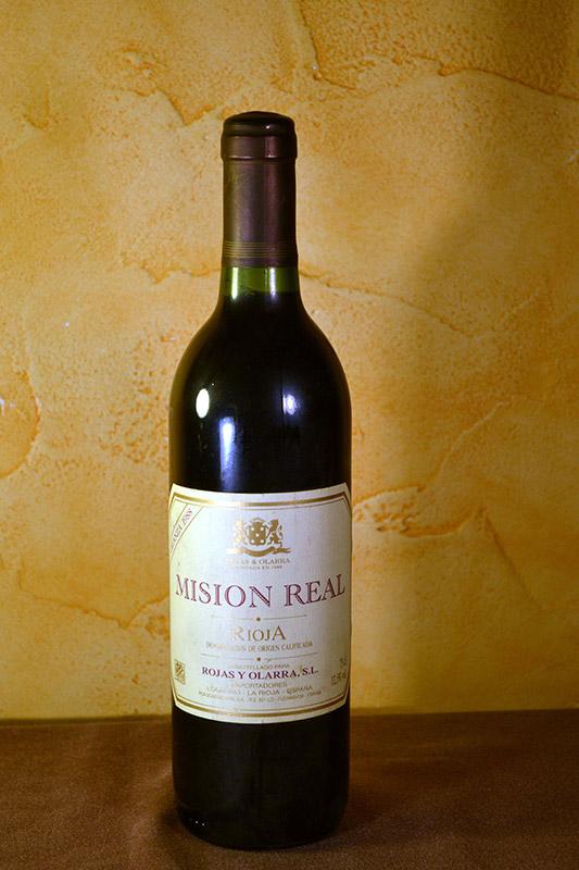 Misión Real Rojas y Olarra Crianza 1988