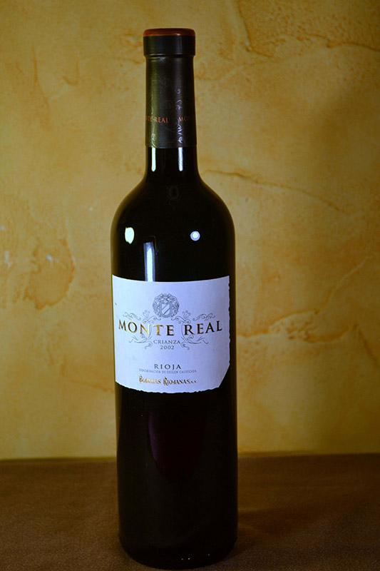 Monte Real Crianza 2002
