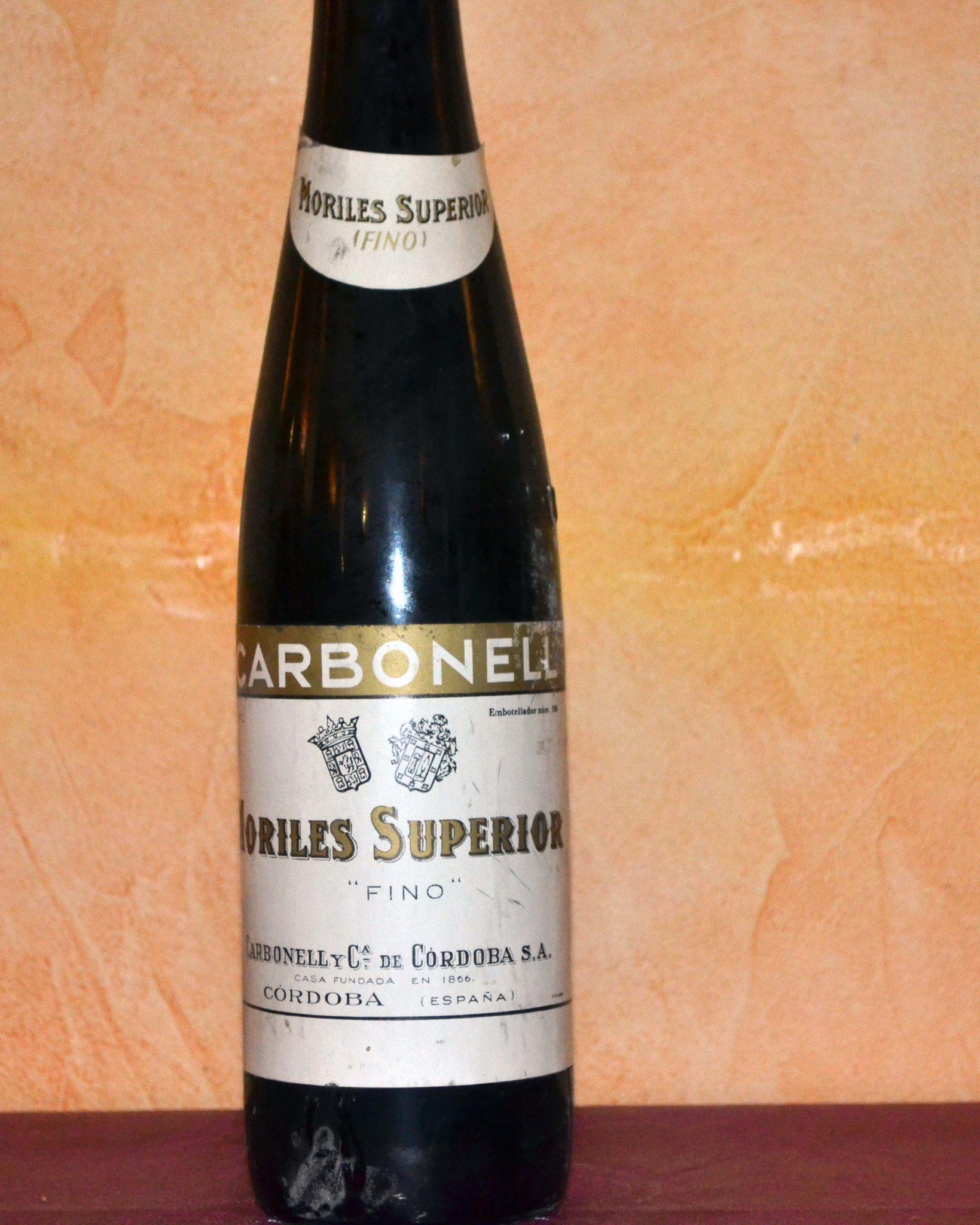 Superior Amontillado Carbonell Moriles