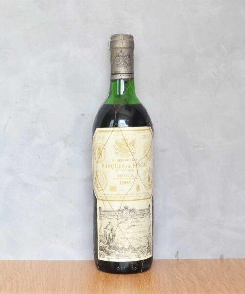Marques de Riscal 1986